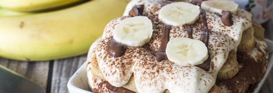 Tiramisu à la banane